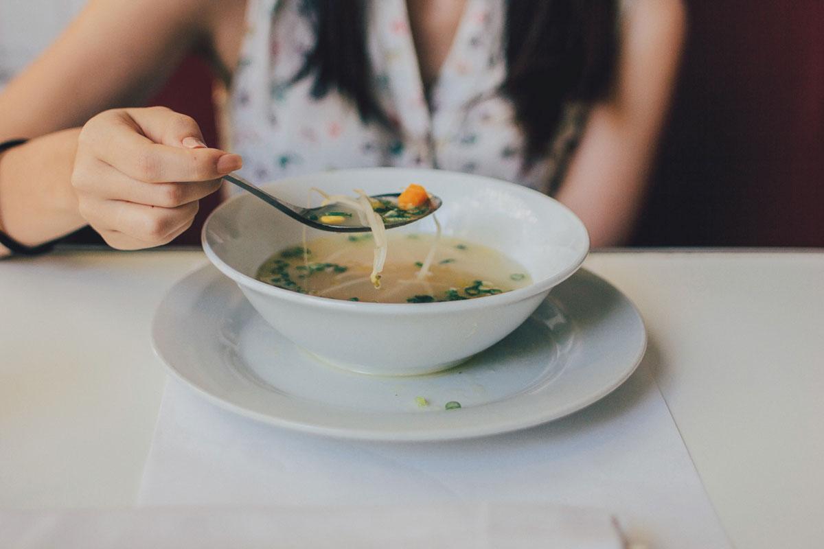 dieta con sopas
