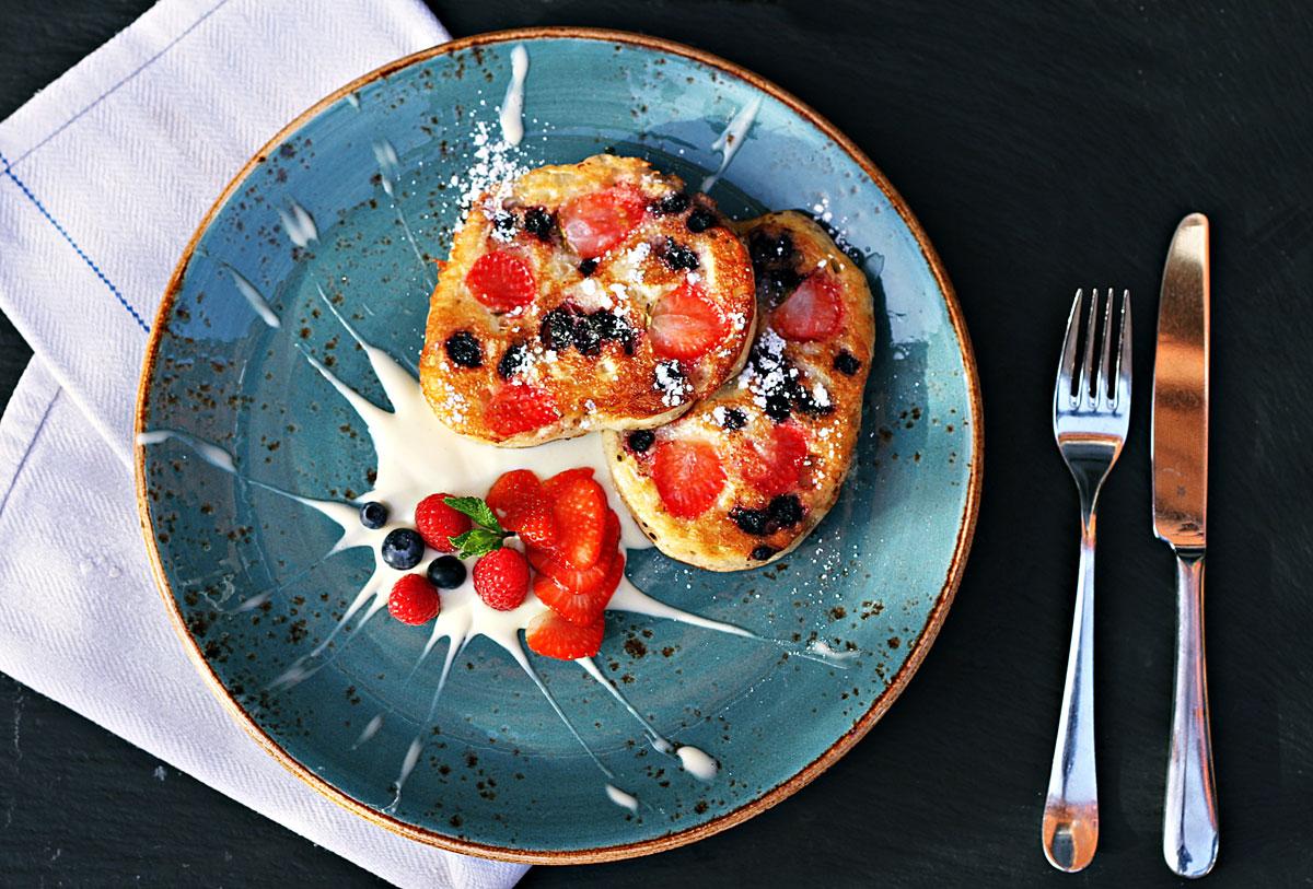 plato de frutas para correctos nutrientes