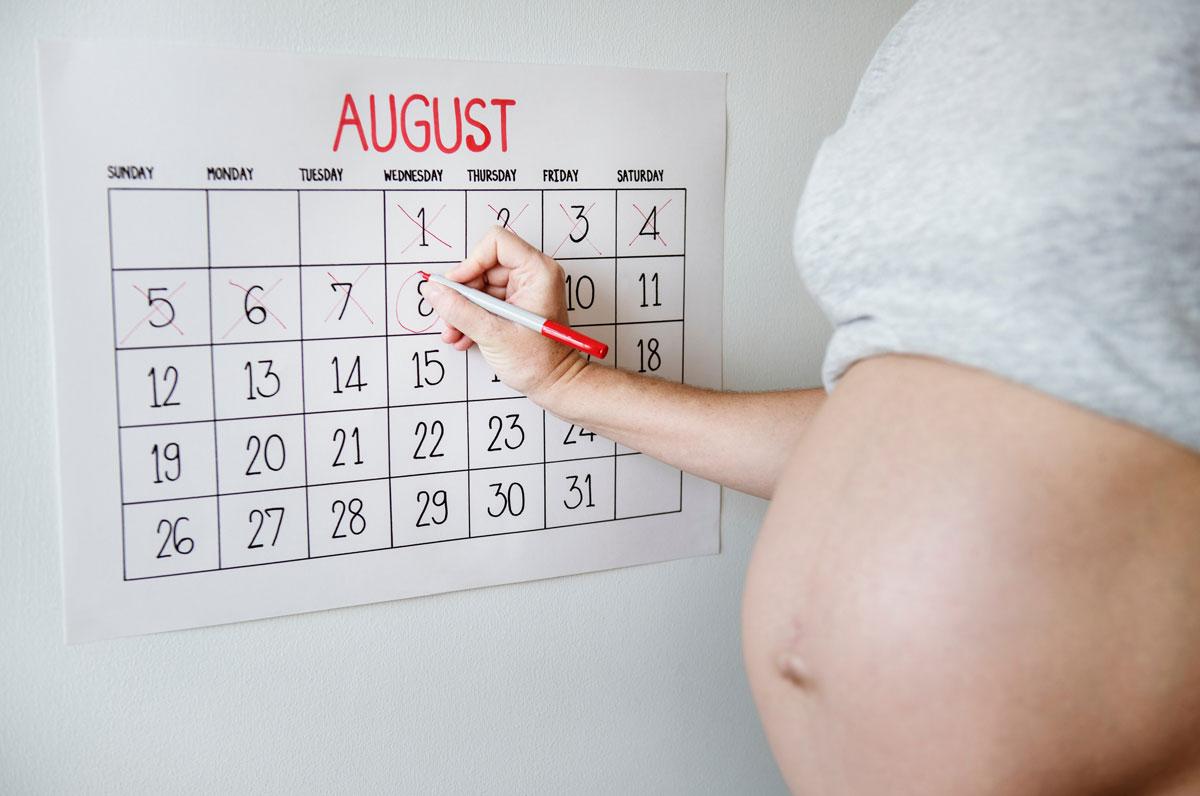 embarazada planificando dieta durante el embarazo