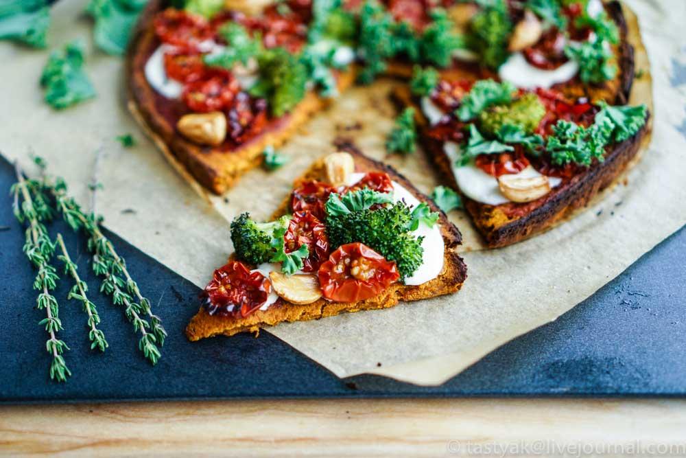 pizza con harina sin gluten